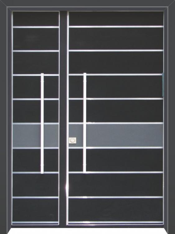 דלת כניסה דגם מודרני