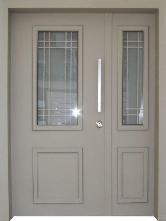 דלתות כניסה דגם פנורמי